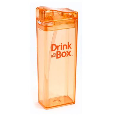 Drink In The Box - Bidon ze Słomką 350ml Orange