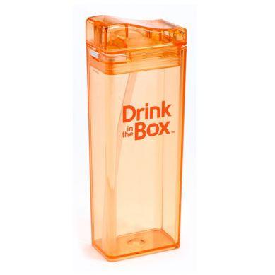 Drink In The Box - Bidon ze Słomką 350ml Orange