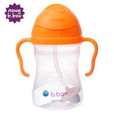 B. Box - Innowacyjny Bidon ze Słomką Pomarańczowy