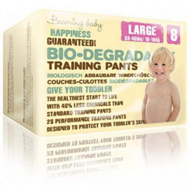 Beaming Baby - Pants Jednorazowe Biodegradowalne Pieluchomajtki 23 szt. L