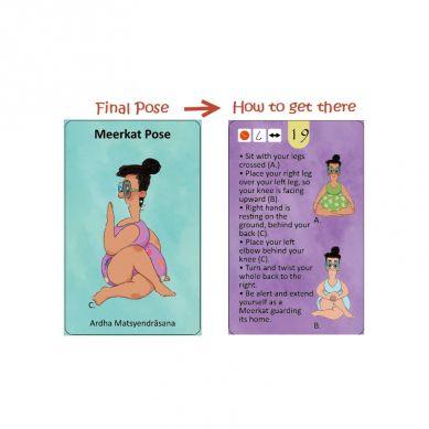 The Purple Cow - Karty Doda Yoga  - Skupienie i Koncentracja (wersja ang.)