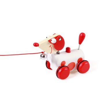 Scratch - Mały Czerwony Piesek do Ciągnięcia Jack