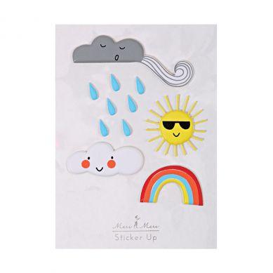 Meri Meri - Zestaw Naklejek Weather