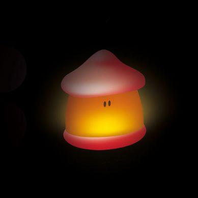 Beaba - Lampka Nocna LED Przenośna Pixie Soft 200h Świecenia Coral