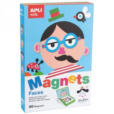 Apli Kids - Magnetyczna Układanka Twarze