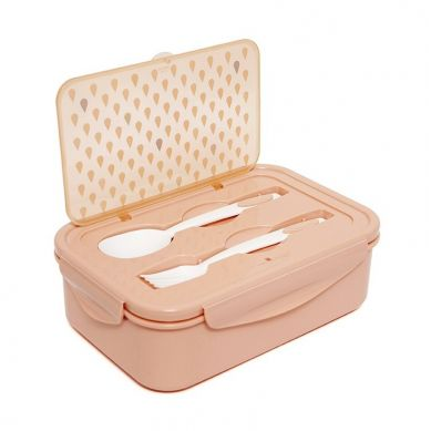 Petit Monkey - Lunchbox Bento Drops Peach
