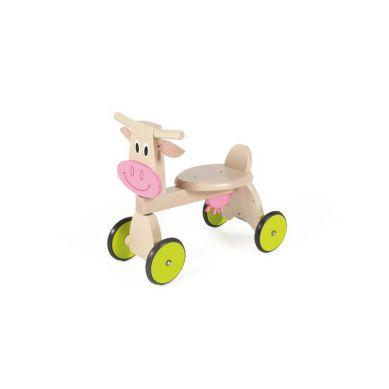 Scratch - Jeździk 4 kołowy Krówka