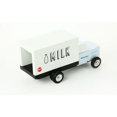 Candylab - Drewniany Samochód Milk Truck