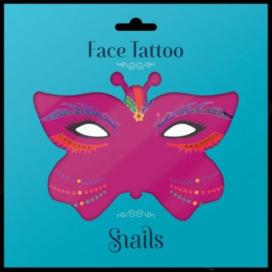 Snails - Naklejki na Twarz Snails Face Tattoo Brasil
