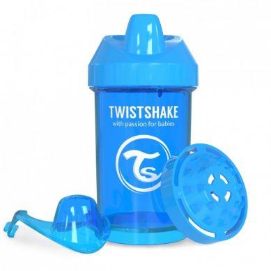 Twistshake - Kubek Niekapek z Mikserem do Owoców 300ml Niebieska