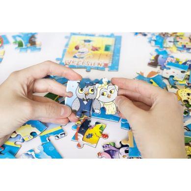 Maka Kids - Puzzle Magnetyczne Miesiące Pudełko z Uchwytem