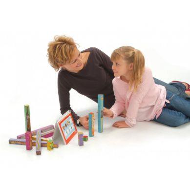 Fat Brain Toys - Matematyczne Zoo Klocki 3+