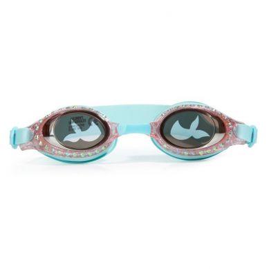 Bling2O - Okulary do Pływania Syrenka Turkus 3+