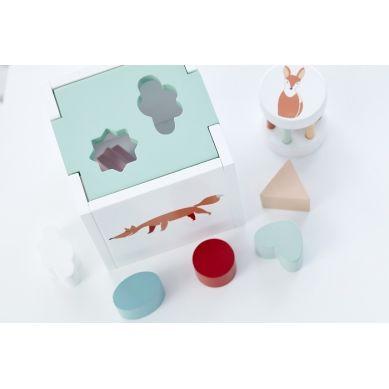 Kids Concept - Sorter Drewniany Zielony