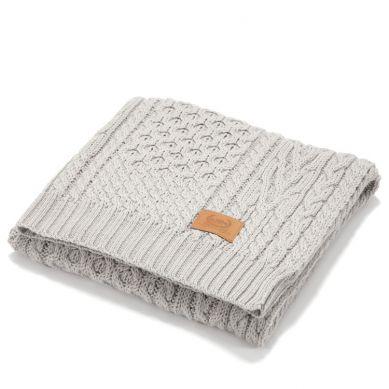 La Millou - Kocyk Merino 85x85 cm  Wool Blanket Dessert Nude