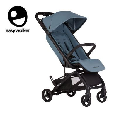 Easywalker - Miley Kompaktowy wózek spacerowy ze zintegrowaną torbą transportową Ocean Blue