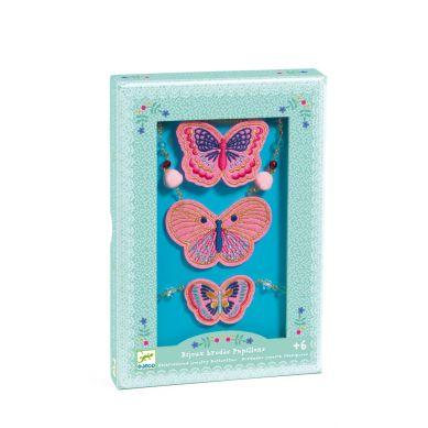Djeco - Wyszywana Biżuteria Butterflies