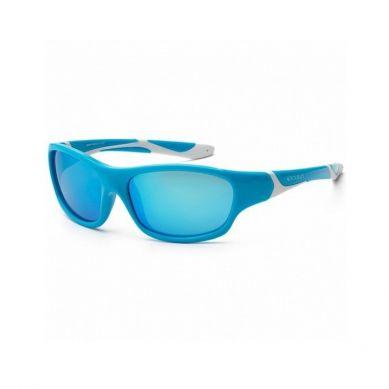 Koolsun - Okularki dla Dzieci Sport Aqua White 6-12 lat