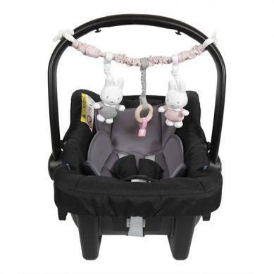 Tiamo - Pałąk Interaktywny Miffy Pink Babyrib