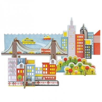 Petit Collage - Puzzle Przestrzenne New York