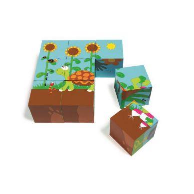 Scratch - Puzzle Podłogowe Farma 36 szt.