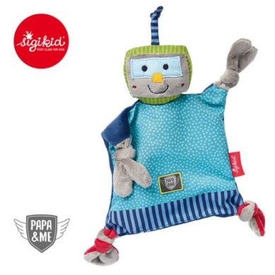 Sigikid - Przytulaczek - komforter Robot Papa&Me