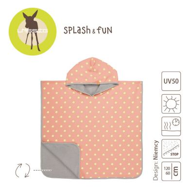 Lassig - Ręcznik Poncho 120x60 UV 50+ Sun