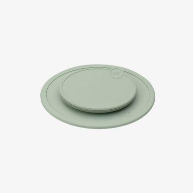 EZPZ - Silikonowa Pokrywka do Małego Talerzyka Mini Mat Pastelowa Zieleń