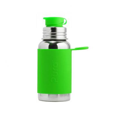 Pura - Termobutelka Pura Kiki Sport Z Zieloną Osłonką 475 ml
