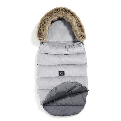 La Millou - Śpiworek Zimowy Aspen Winterproof Velvet Collection Dark Grey