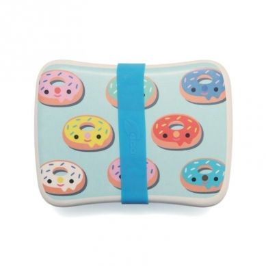 Petit Monkey - Bambusowy Lunchbox Donuts Blue