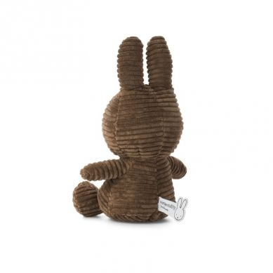 Miffy - Przytulanka Miffy Corduroy Brown 23cm