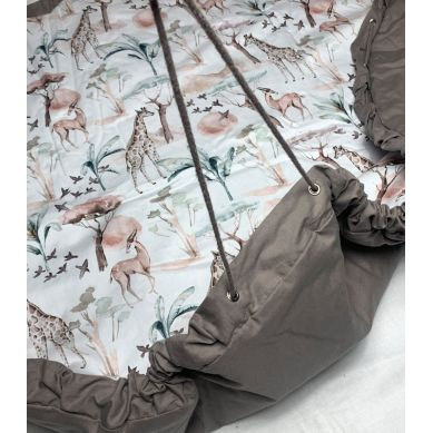 Muzpony - Worek/Mata do Zabawy Safari 120cm 0m+