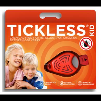 Tickless - Odstraszacz Kleszczy Przenośny Kid Orange