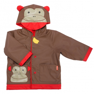 Skip Hop - Płaszcz Przeciwdeszczowy Zoo Małpka 3-4 lata