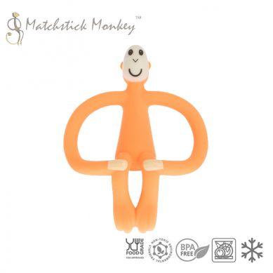 Matchstick Monkey - Gryzak Masujący ze Szczoteczką Orange