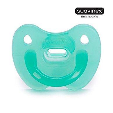 Suavinex - Smoczek Anatomiczny Silikonowy Clouds Blue 0-6m