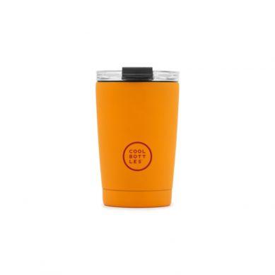 Cool Bottles - Kubek Termiczny 330 ml Triple cool Vivid Orange