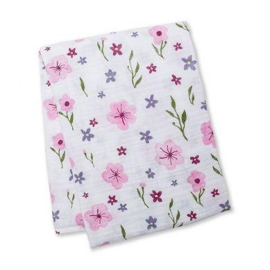 Lulujo - Kocyk Muślinowy Lovely Floral