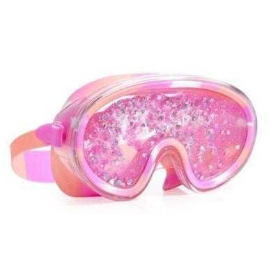 Bling2O - Maska do Pływania z Różowym Brokatem 6+