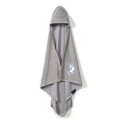 La Millou - Ręcznik Bambusowy Newborn by Maja Bohosiewicz Grey Unicorn Rainbow Knight