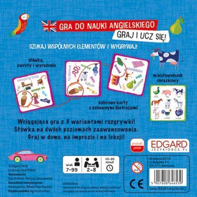 Edgard Games - Gra do Nauki Angielskiego Bójka na Słówka Na 3 Sposoby 7+