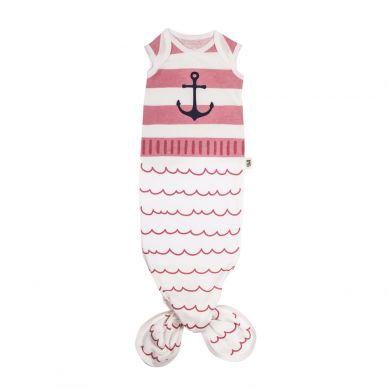 Baby Bites - Śpioszki Baby Gown Sailor 0-3m Pink