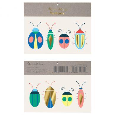 Meri Meri - Zestaw Tatuaży Nen Bugs