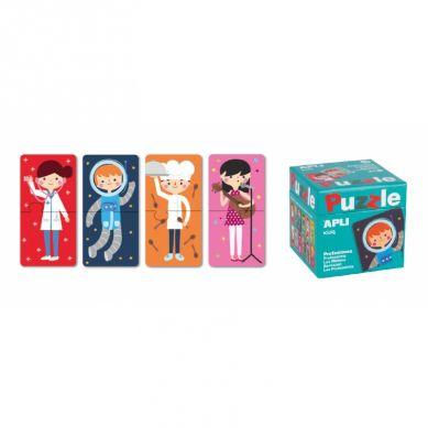 Apli Kids - Puzzle Dwuczęściowe Zawody 3+