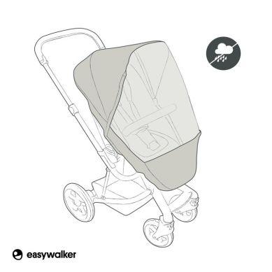 Easywalker - Harvey Osłona Przeciwdeszczowa Na Siedzisko Wózka Easywalker