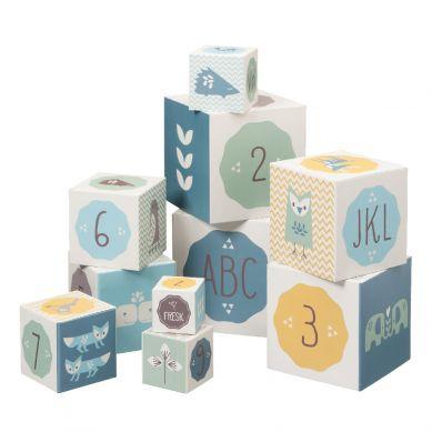 Fresk - Klocki Alfabet i Cyfry Boy 1+