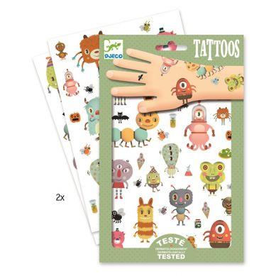 Djeco - Tatuaże Potworki