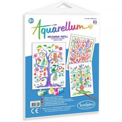 Sentosphere - Aquarellum Drzewa Życia 3 Plansze Zapasowe do Malowania
