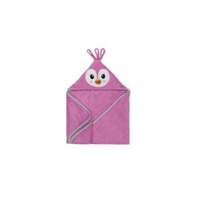 Zoocchini - Ręcznik dla Niemowlaka z Kapturem Pingwin